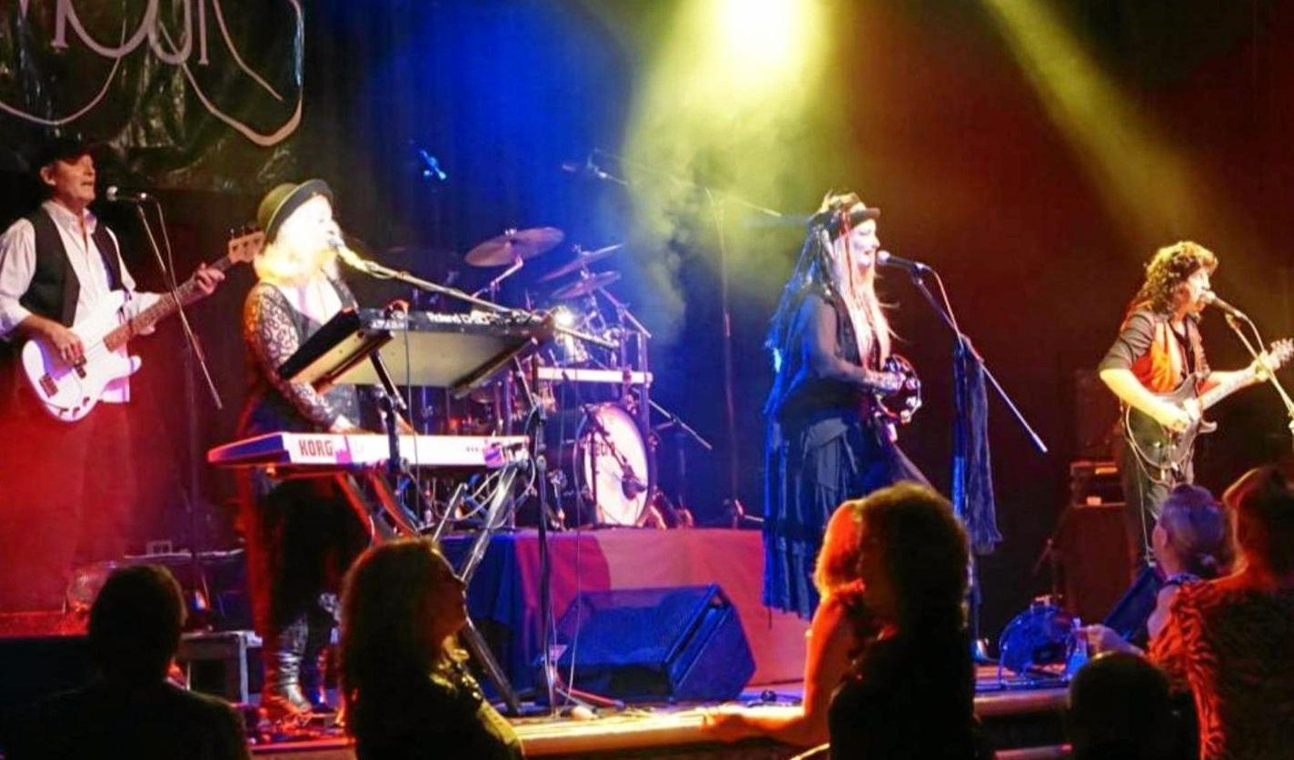 TRIBUTE: Rumours, the Australian Fleetwood Mac Experience, is performing in Ballina this weekend.