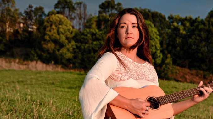 YOUNG: Byron Bay teen musician Leeli.