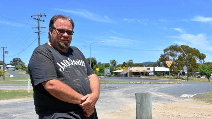 BIG FISH: James Small hopes to revive Wallangarra with his barramundi farm.