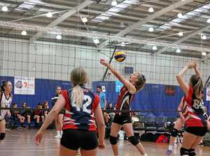Volleyball carnival a smash hit
