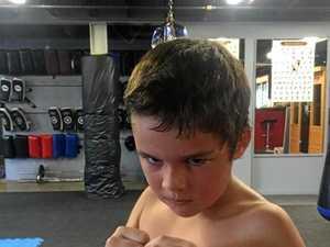 How young Ashton found his fighting spirit