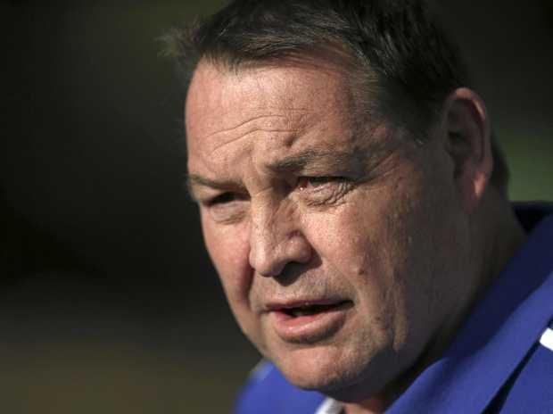 New Zealand rugby union head coach Steve Hansen.
