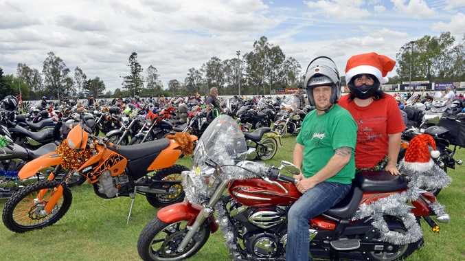 EVENT THANKS: Participants Andrew and Mandy Flett at the Ipswich Showgrounds.