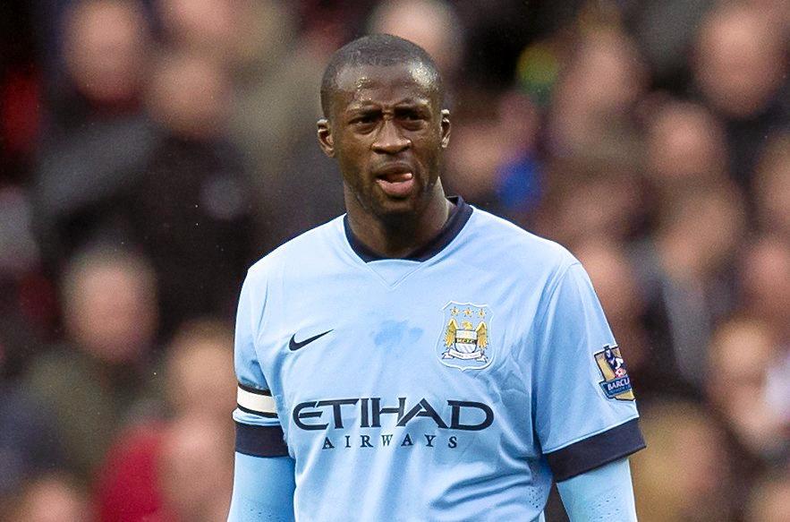 Manchester City's Yaya Toure.