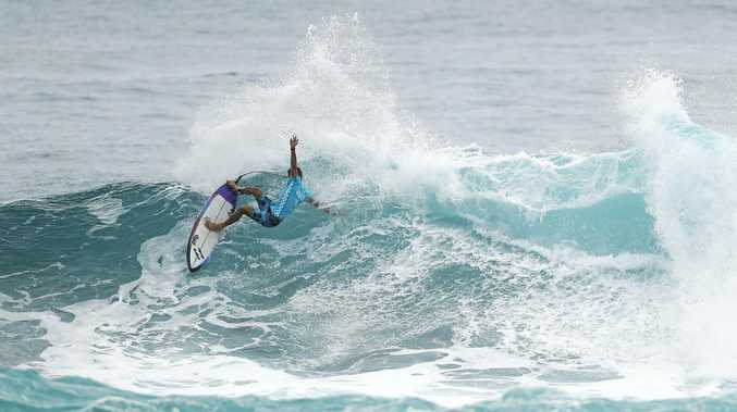 BACK ON TOUR:  Freestone reaches the semis at Sunset Beach, Hawaii, in Vans World Cup to requalify for next year's WSL World Tour.