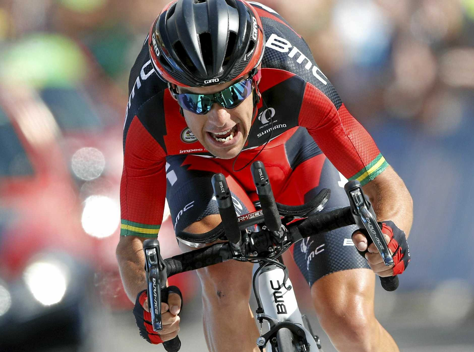 Australia's Richie Porte rides during the 18th stage of the 2016 Tour de France.