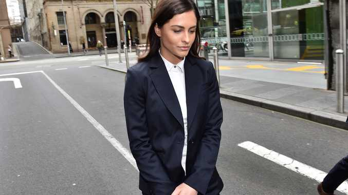 Krystal Johnson has een found guilty of contempt of court after a story she wrote led to a mistrial. Source AAP.