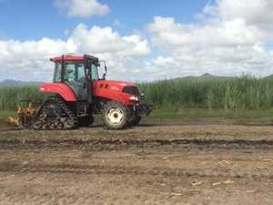 Driverless Tractor in Action