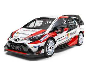 Toyota Yaris WRC revealed, road-going hot hatch to follow