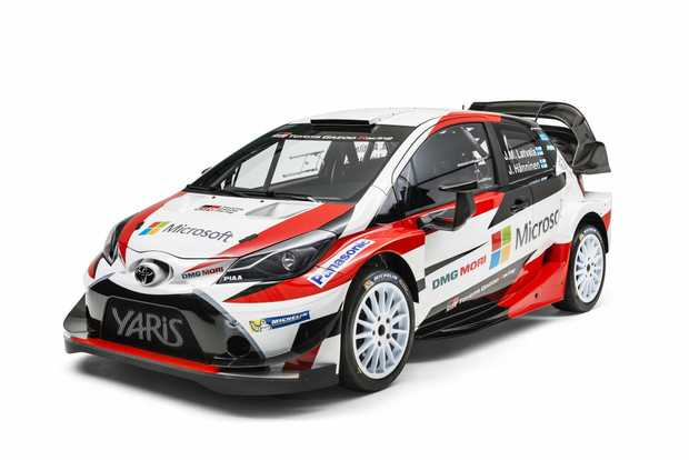 WIDE BOY: 2017 Toyota Yaris WRC challenger will serve as inspiration for a future Yaris hot hatch road car.
