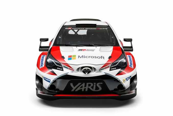 2017 Toyota Yaris WRC challenger.
