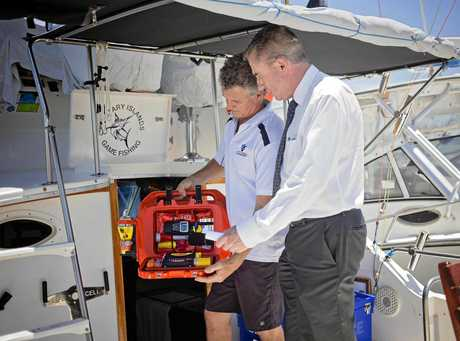Kevin Hogan has announced a grant to assist Corindi Beach-based Life Cell Marine Safety.