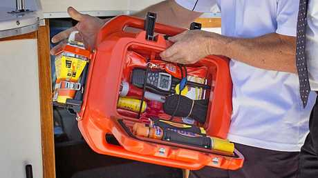 Live Cell puts all the marine safety equipment in one easy-to-grab place.
