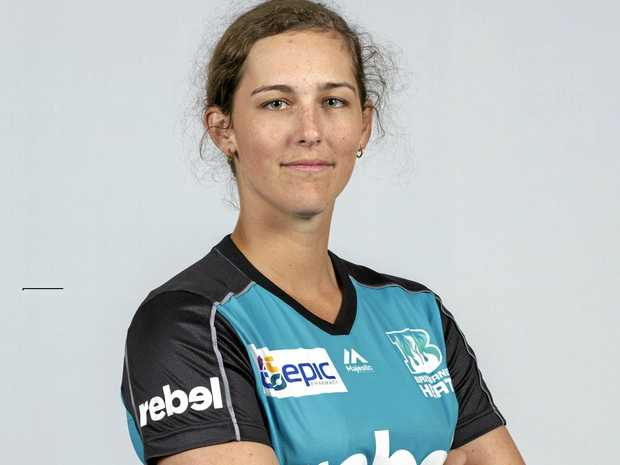 Tess Cooper in the WBBL uniform.