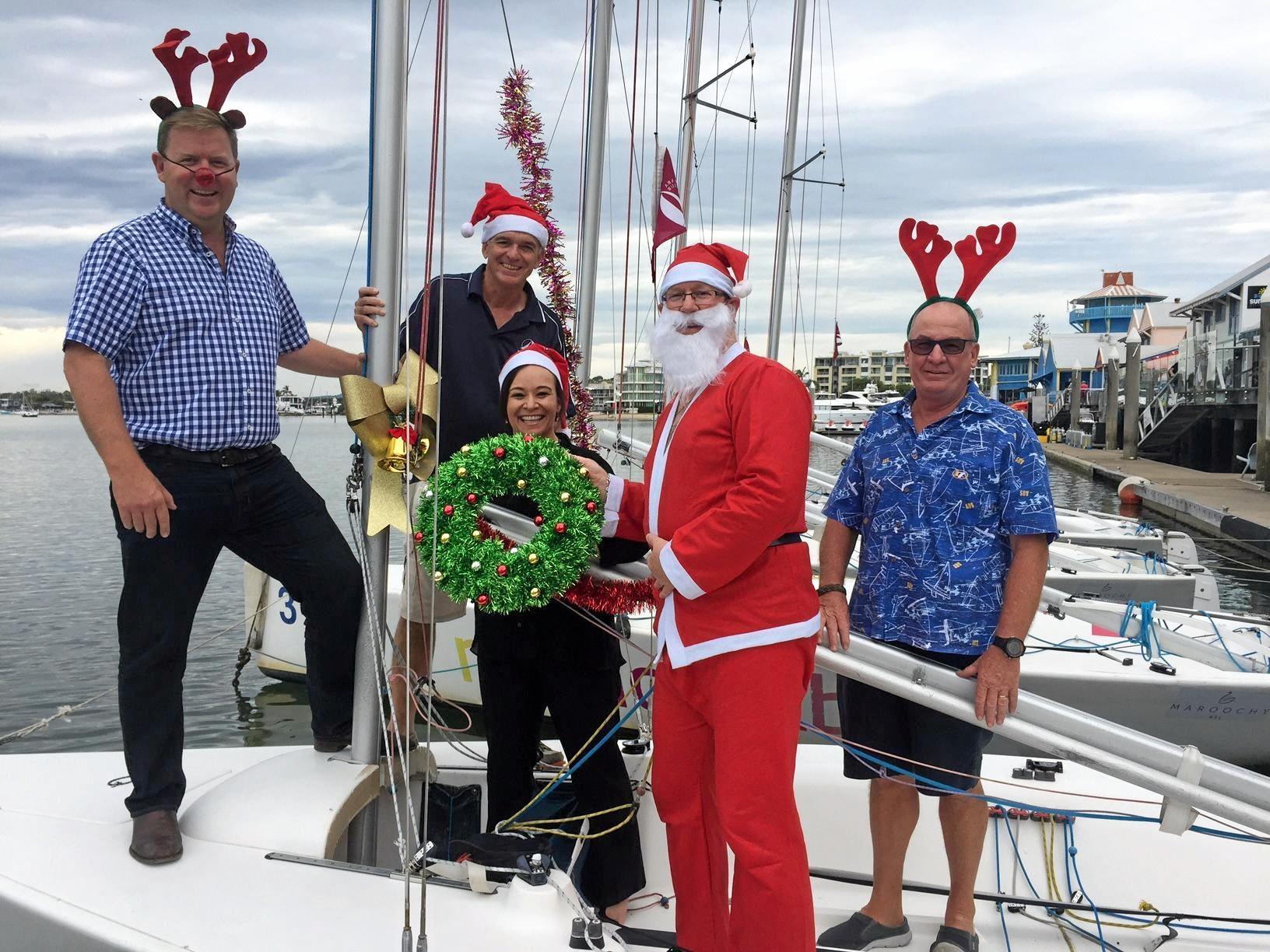 WATER FESTIVITIES: Mooloolaba Christmas Boat Parade will light up Mooloolaba.