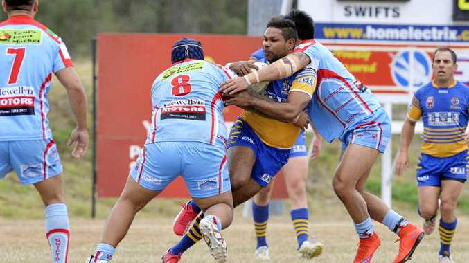 Norths rugby league player Brendan Marshall (with ball) is taking on a new role at the club.