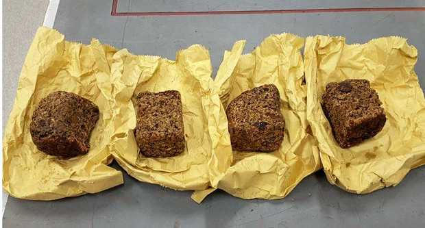 Police located at least 10 kilos of cannabis and a large amount of cannabis cake at the Larnook home.