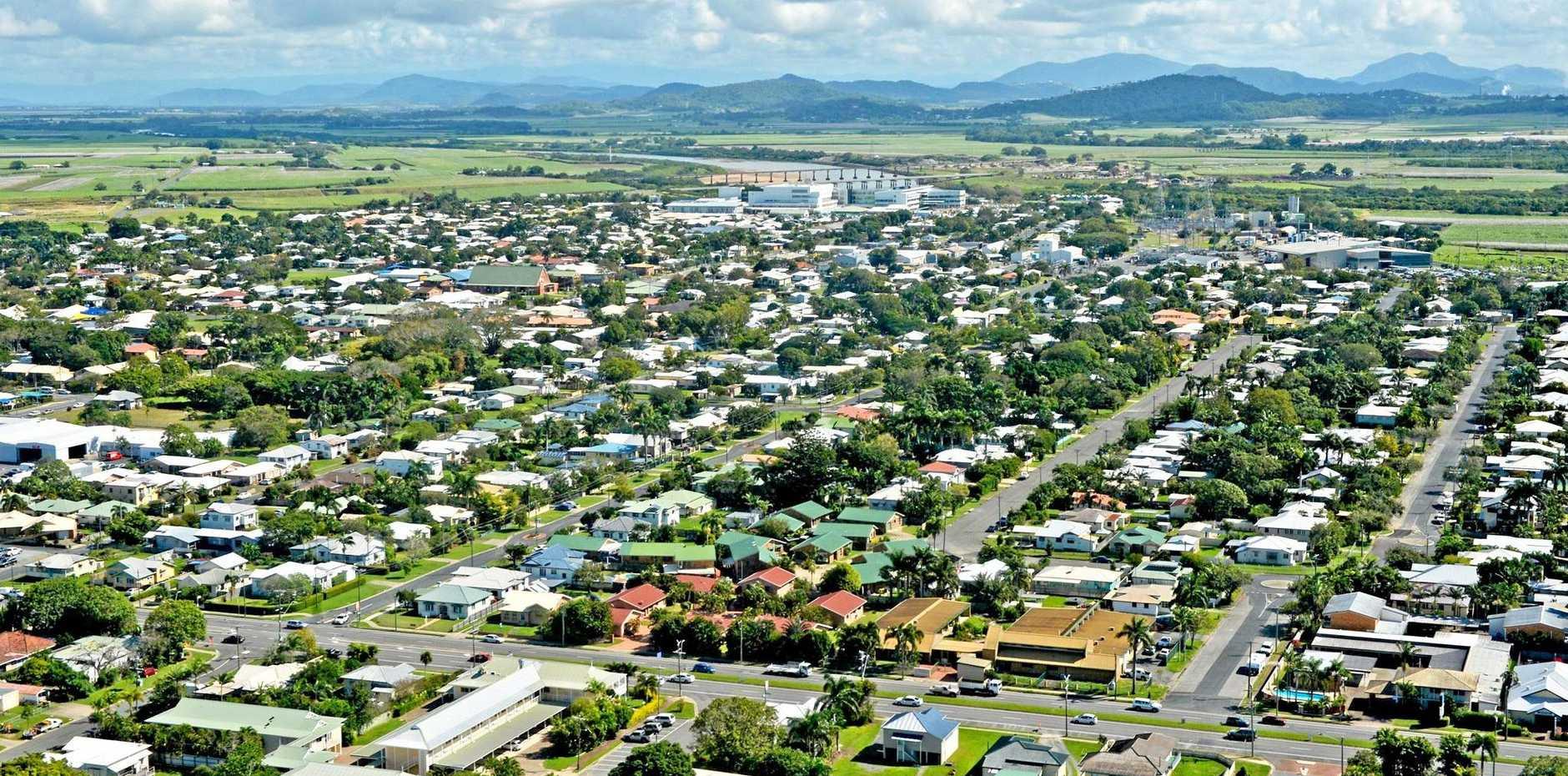 Aerial Mackay HousingPhoto Lee Constable / Daily Mercury