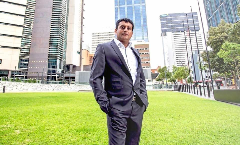 Brisbane-based Indian entrepreneur Nirav Tripathi.