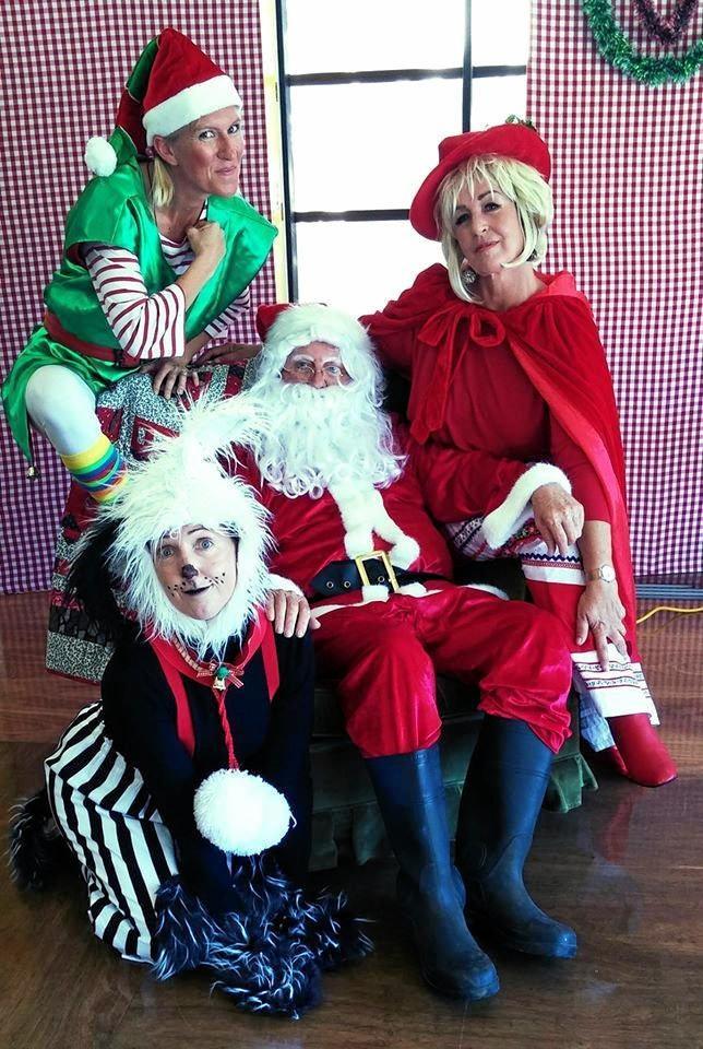 That's Not Santa! at Nambour's Black Box Theatre.