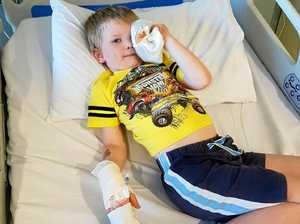 Miraculous recovery for boy doctors feared would lose sight