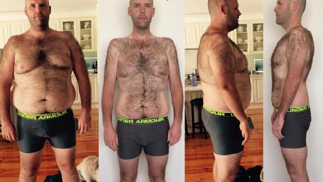 Andrew Taylor lost more than 50 kilograms.