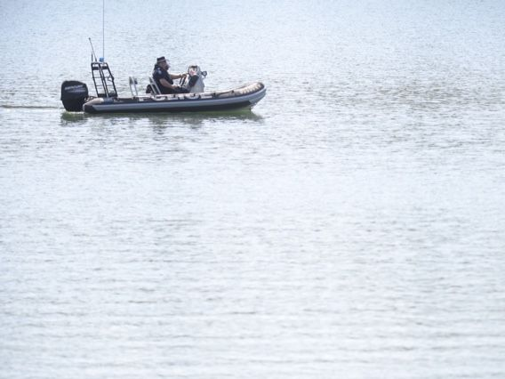 Police resume a search for a swimmer who went missing in a water-filled quarry at Collingwood Park on Wednesday.