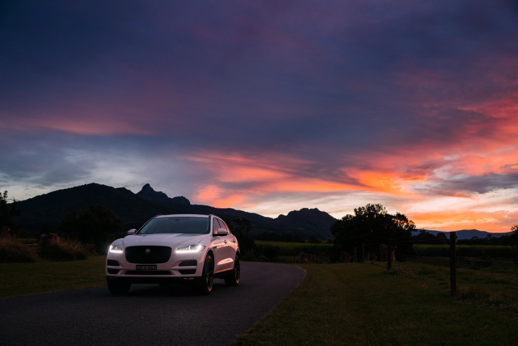 STYLE STAR: The Jaguar F-Pace beat finalists Audi Q5 and Volkswagen Tiguan in an all-SUV top three to win the coveted 2017 World Car of the Year title.