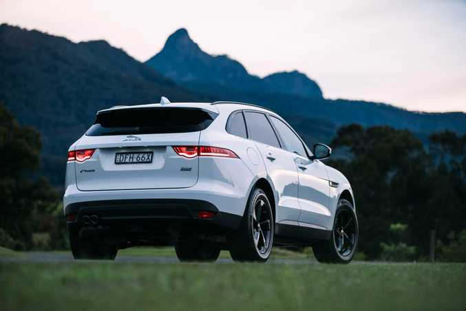 The Jaguar F-Pace.