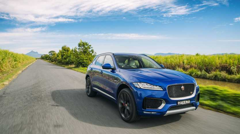 STRIKING STYLE: Jag's plush addition to the family is one of the best premium SUVs around.
