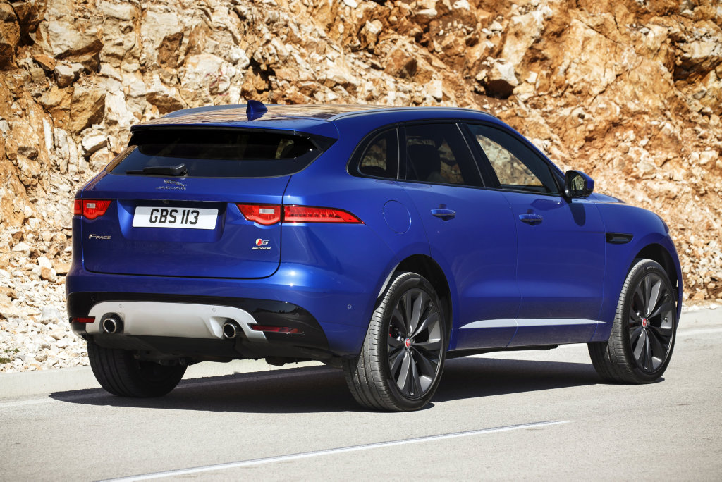The Jaguar F-Pace in First Edition specification.