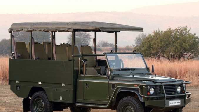 Land Rover safari game viewer