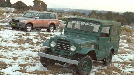 Roz's family used Toyota LandCruisers as she was growing up.