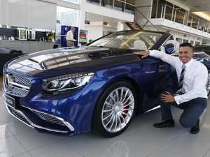 Sunshine Coast's most expensive new car delivered
