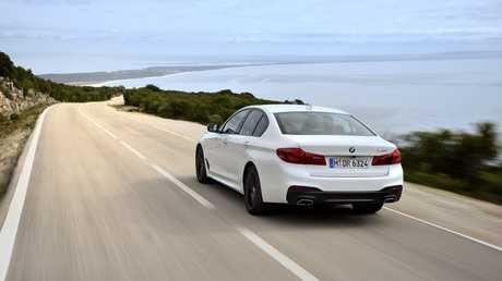 The 2017 BMW 540i.