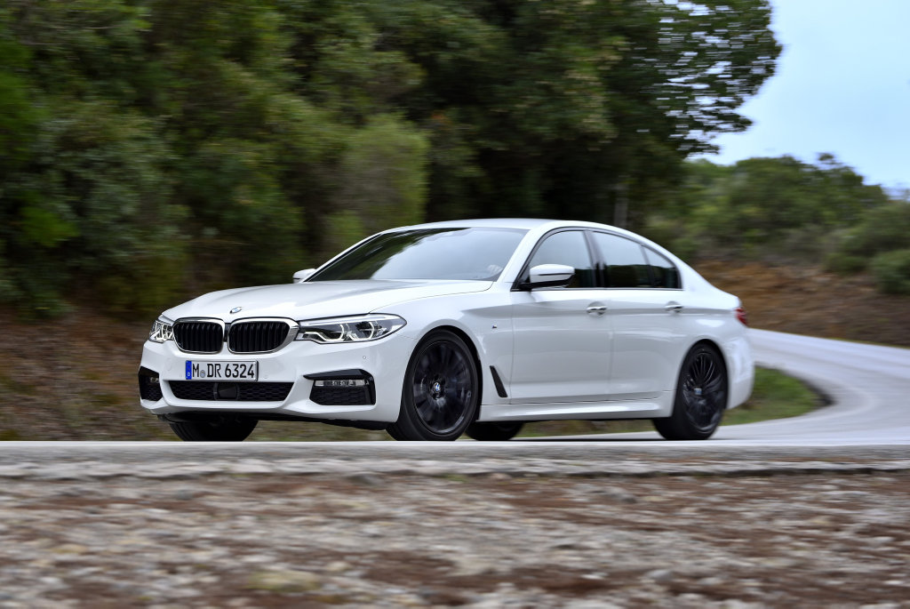 PRICIER PREMIUM: March arrival date for seventh generation BMW 5 Series, priced from $93,900 to $136,900