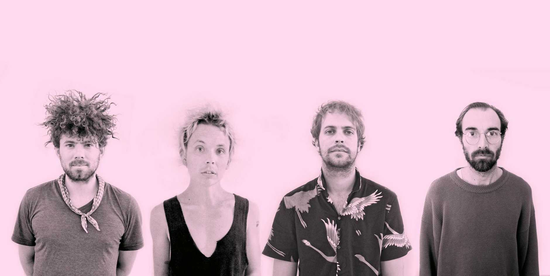 NOT SO TAME: Pond is a psychedelic rock band from Perth, Western Australia, formed in 2008.
