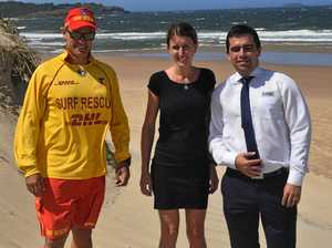 Conditions perfect for beach run on Australia Day