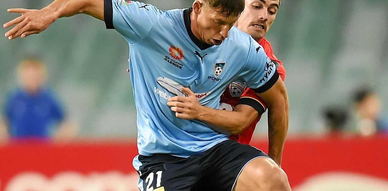 Goals have dried up for Sydney's Filip Holosko.