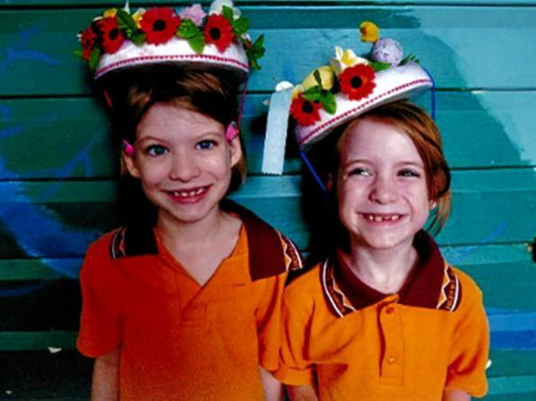 Police are searching for 7-year-old girls Bronte and Isabella Watter.  Photo Contributed.