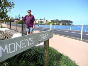 Council responds to Darryl's plea: 'shut off Moneys Creek'