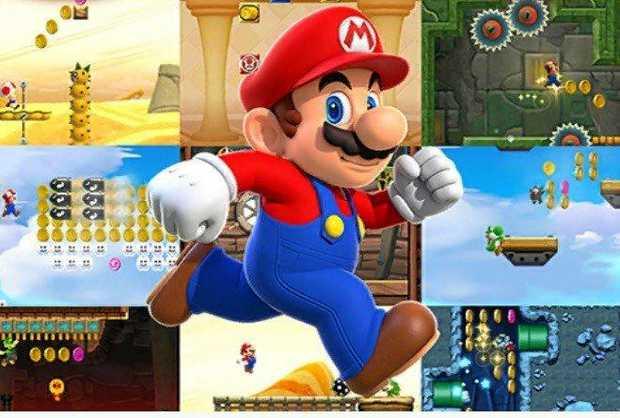 Screenshot from Mario Run app for iPhones and iPads