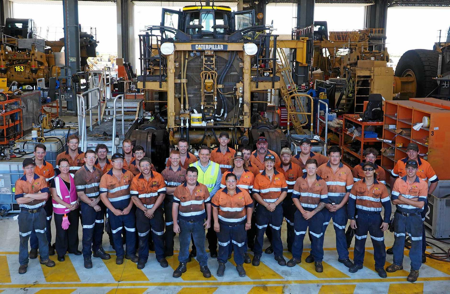 Hastings Deering Mackay fourth year apprentices.