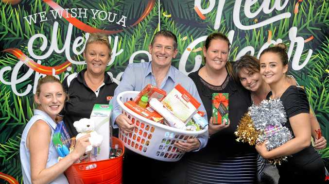 HERE TO HELP: The team from The Queensland Times wishes to thank the Ipswich public for their contributions to the Adopt-a-Family Appeal.