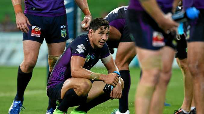 Melbourne Storm is wary of putting too much pressure on Billy Slater after his shoulder surgery.