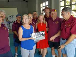 Bert's historic rego plates gifted to Bundy