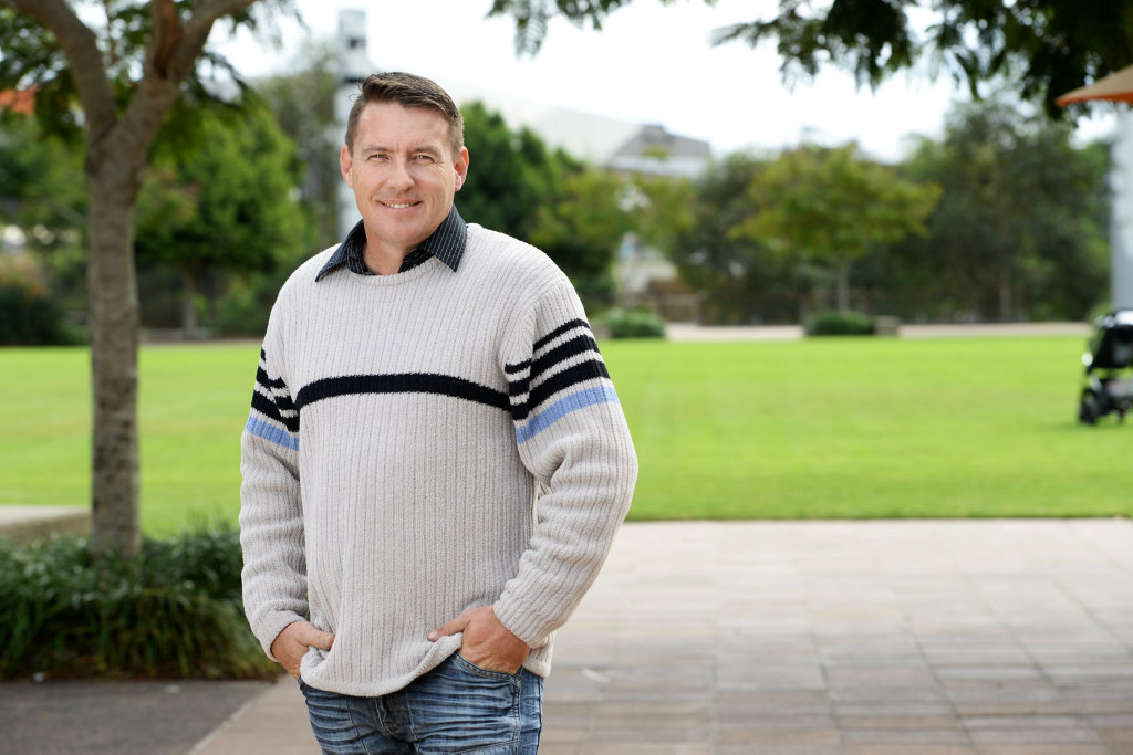 One Nation candidate Troy Aggett is running for the seat of Blair in the federal election