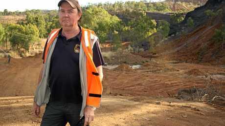Mt Morgan Mine tour operator John Steinberger.