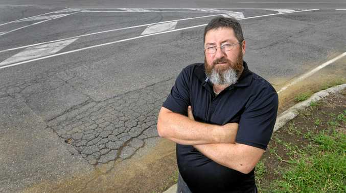 Ebenezer resident Ron Turner talks about the heavy haulage route planned for the area.