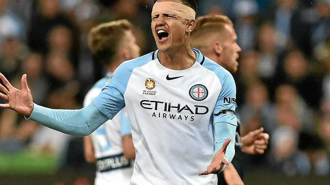 Melbourne City player Tim Cahill.